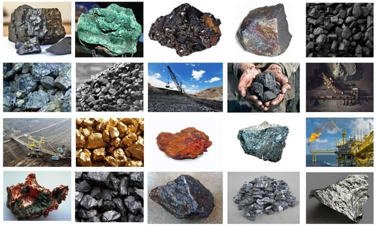 Türkiye'de Çıkarılan Madenler ve Yerleri